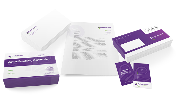 branded corporate stationery