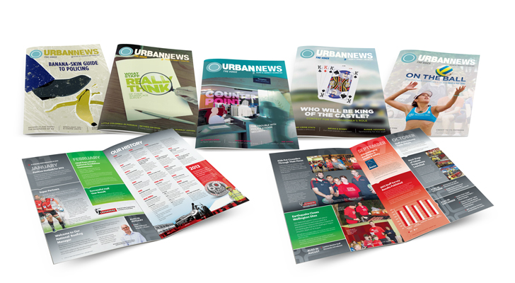 designed and printed publications
