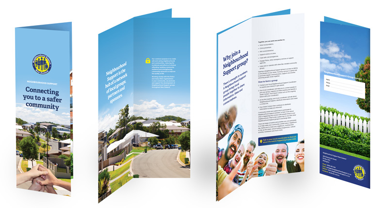 Neighbourhood Support Brochure design